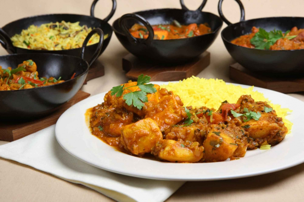 Wide Variety of Curry Dishes